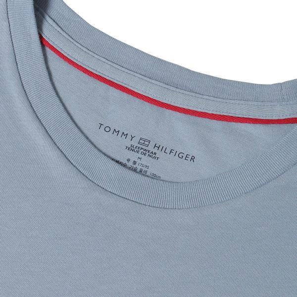 【即納】トミー ヒルフィガー Tommy Hilfiger メンズ Tシャツ トップス S/S CREW TEE DUSTY BLUE ロゴ クルーネック|fermart|04