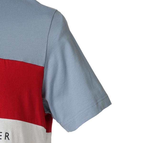 【即納】トミー ヒルフィガー Tommy Hilfiger メンズ Tシャツ トップス S/S CREW TEE DUSTY BLUE ロゴ クルーネック|fermart|05