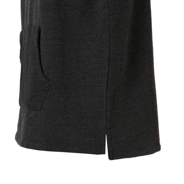 【即納】エンコーデッド ENCODED メンズ パーカー トップス フーディー フード Oversized line hoodie Charcoal GREY|fermart|05