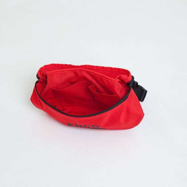 【即納】エンコーデッド ENCODED メンズ ボディバッグ・ウエストポーチ バッグ ENCD BASIC SHOULDER BAG red|fermart|02