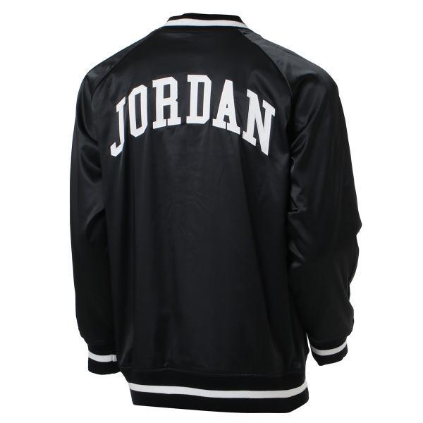 【即納】ナイキ ジョーダン Jordan メンズ ブルゾン アウター NIKE JORDAN HGG SATIN JK BLACK|fermart|02