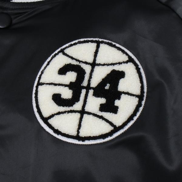 【即納】ナイキ ジョーダン Jordan メンズ ブルゾン アウター NIKE JORDAN HGG SATIN JK BLACK|fermart|03