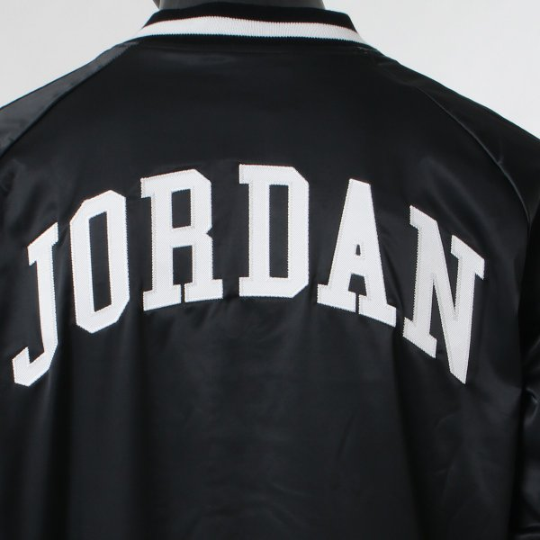 【即納】ナイキ ジョーダン Jordan メンズ ブルゾン アウター NIKE JORDAN HGG SATIN JK BLACK|fermart|06