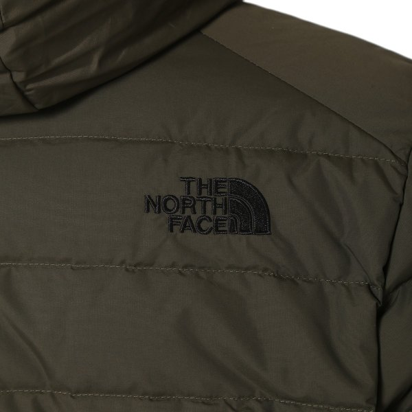 【即納】ザ ノースフェイス The North face メンズ ダウン・中綿ジャケット アウター Down Jacket DARK GREEN|fermart|04
