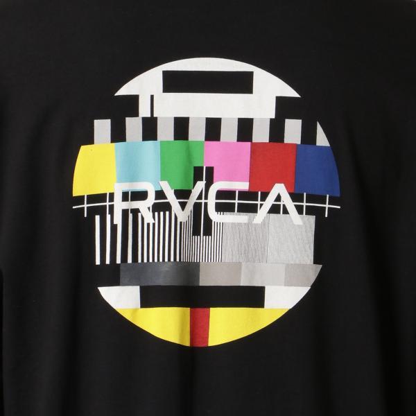 【即納】ルーカ RVCA メンズ 長袖Tシャツ トップス Testing L/S BLACK ロンT ロングT ビッグロゴ バックプリント|fermart|04
