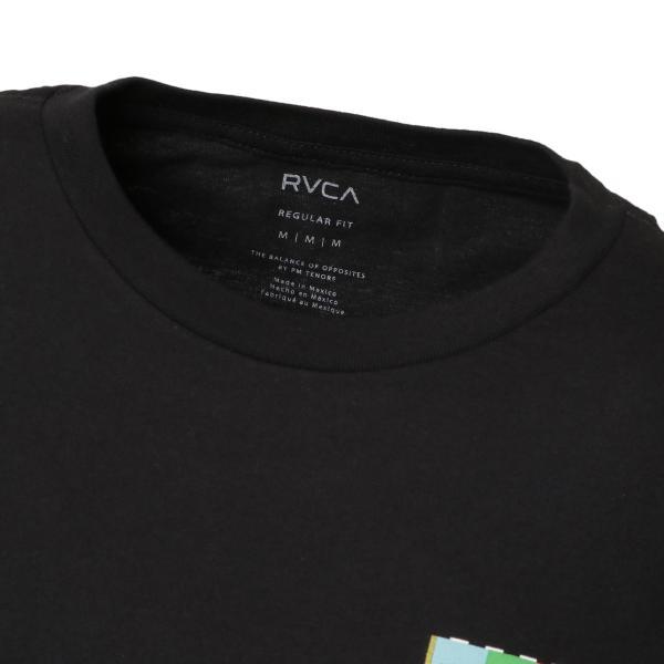 【即納】ルーカ RVCA メンズ 長袖Tシャツ トップス Testing L/S BLACK ロンT ロングT ビッグロゴ バックプリント|fermart|05