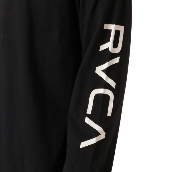 【即納】ルーカ RVCA メンズ 長袖Tシャツ トップス Testing L/S BLACK ロンT ロングT ビッグロゴ バックプリント|fermart|06