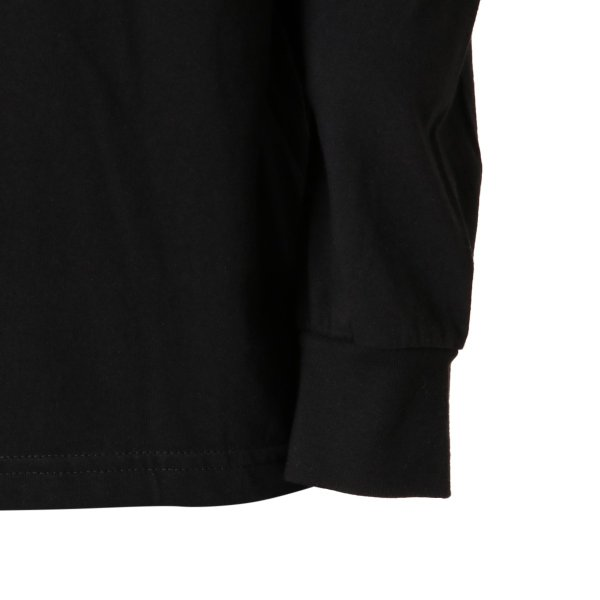 【即納】ルーカ RVCA メンズ 長袖Tシャツ トップス Testing L/S BLACK ロンT ロングT ビッグロゴ バックプリント|fermart|08