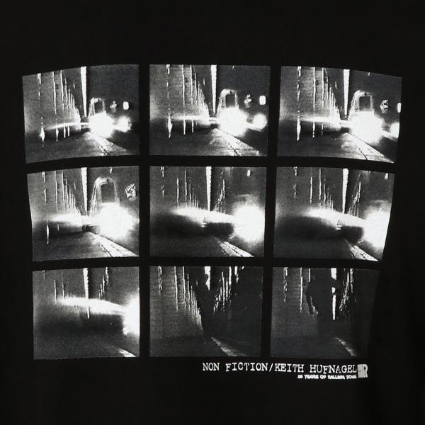 【即納】ハフ HUF メンズ 長袖Tシャツ トップス ロンT ロングT ロングスリーブ REAL NON-FICTION L/S TEE BLACK fermart 05