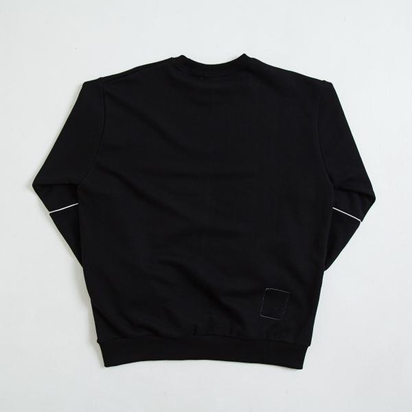 【即納】エンコーデッド ENCODED メンズ スウェット・トレーナー トップス ENBROIDERY LOGO SWEAT PO black fermart 02