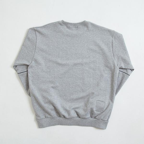 【即納】エンコーデッド ENCODED メンズ スウェット・トレーナー トップス ENBROIDERY LOGO SWEAT PO gray fermart 02