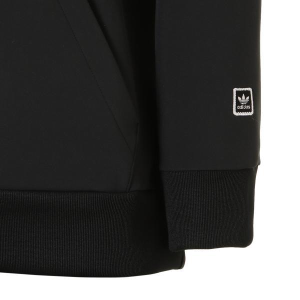 【即納】アディダス adidas originals メンズ パーカー トップス フーディー フード TEAM TECH HOODIE BLACK / WHITE|fermart|05