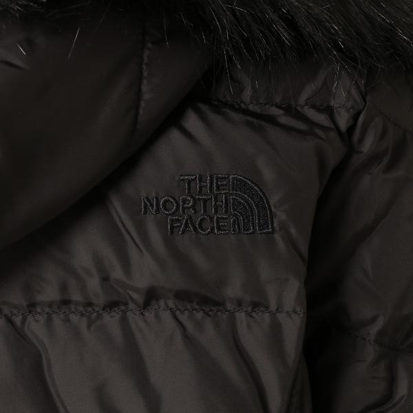 【即納】ザ ノースフェイス The North Face レディース ダウン・中綿ジャケット アウター Gotham Jacket BLACK フードファー ゴッサム キルティング|fermart|05