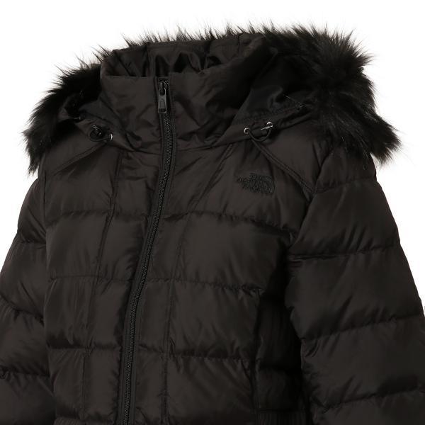 【即納】ザ ノースフェイス The North Face レディース ダウン・中綿ジャケット アウター Gotham Jacket BLACK フードファー ゴッサム キルティング|fermart|06
