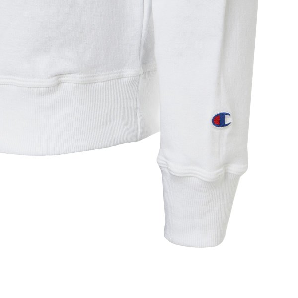 【即納】チャンピオン Champion メンズ スウェット・トレーナー トップス 裏起毛 クルーネック ロゴ USAモデル Graphic Powerblend Fleece Crew WHITE|fermart|04