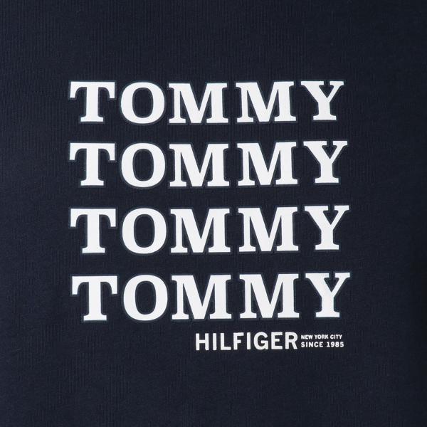 【即納】トミー ヒルフィガー Tommy Hilfiger メンズ Tシャツ トップス CREW TEE DARK NAVY ロゴ クルーネック fermart 03
