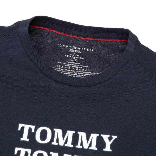 【即納】トミー ヒルフィガー Tommy Hilfiger メンズ Tシャツ トップス CREW TEE DARK NAVY ロゴ クルーネック fermart 04
