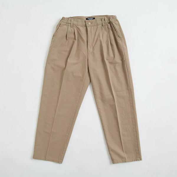 【即納】エンコーデッド ENCODED メンズ チノパン ボトムス・パンツ TREND 2TUCK CHINO PANTS beige fermart 02