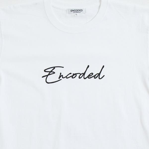 【即納】エンコーデッド ENCODED メンズ Tシャツ トップス Encoded STREAM TEE white fermart 03