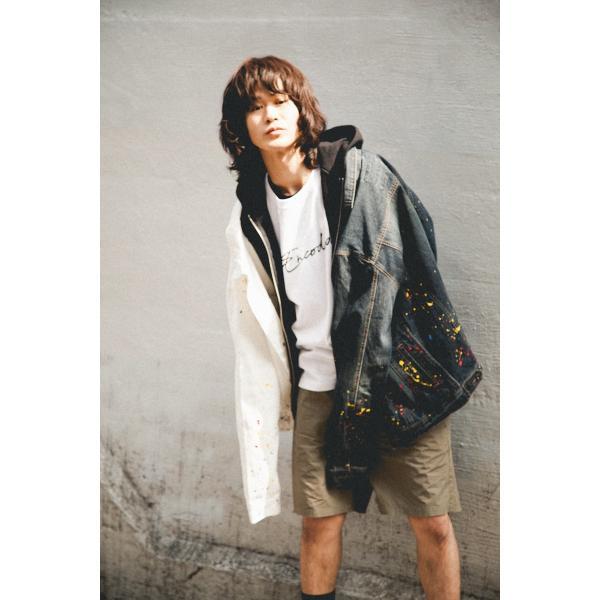 【即納】エンコーデッド ENCODED メンズ ジャケット アウター DROP PAINT DENIM JACKET navy|fermart|04