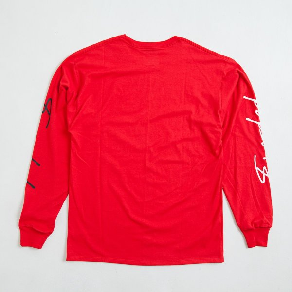 【即納】エンコーデッド ENCODED メンズ 長袖Tシャツ トップス ロンT ロングT ロングスリーブ ASYMMETRY C BODY L/S TEE red|fermart|02