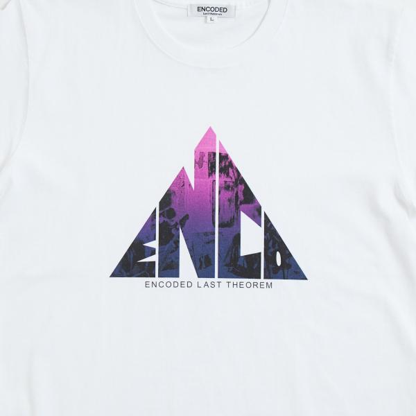 【即納】エンコーデッド ENCODED メンズ Tシャツ トップス TRIANGLE EMBLEM TEE white|fermart|03