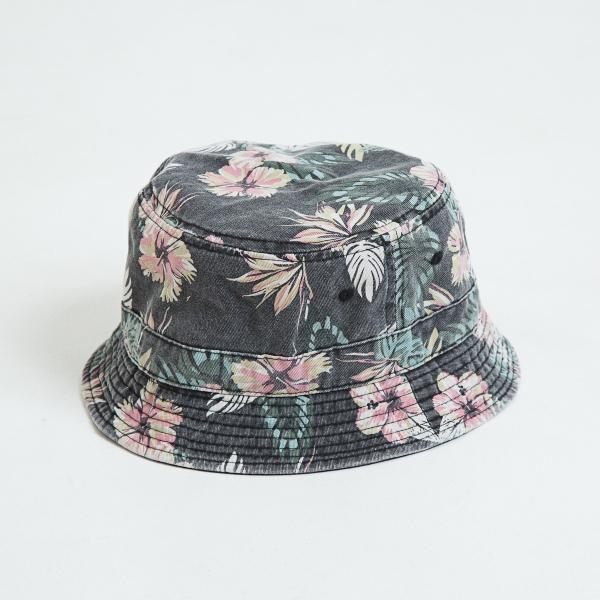 【即納】エンコーデッド ENCODED メンズ ハット 帽子 ENBROIDERY REVERSIBLE BUCKET HAT black|fermart|02