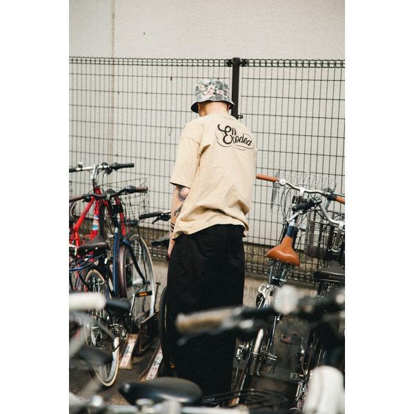 【即納】エンコーデッド ENCODED メンズ ハット 帽子 ENBROIDERY REVERSIBLE BUCKET HAT black|fermart|03