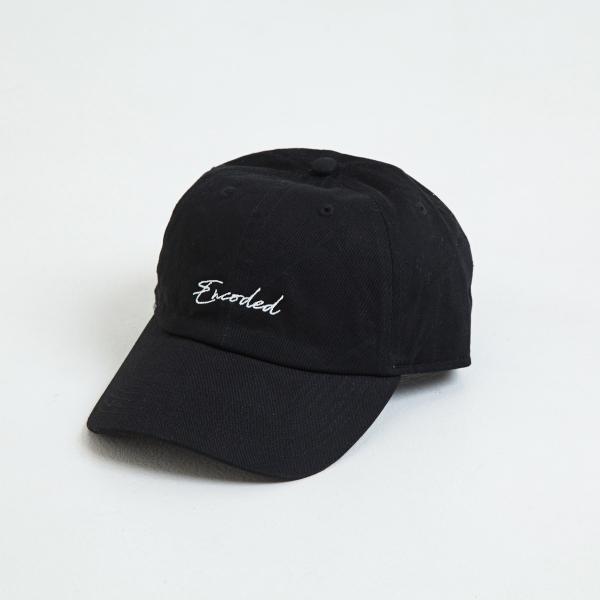【即納】エンコーデッド ENCODED メンズ キャップ 帽子 ENBROIDERY STREAM CAP black|fermart