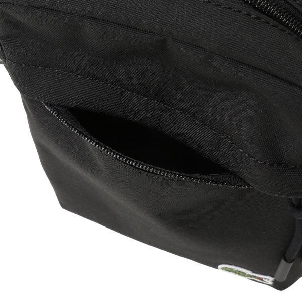 【即納】ラコステ Lacoste ユニセックス ショルダーバッグ バッグ Neocroc Camera Bag 991 black ミニショルダー カメラバッグ ネオクロック 斜め掛け|fermart|06