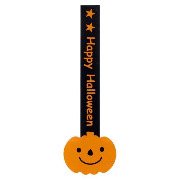 HW-8S ハロウィンロリポップシール-かぼちゃ 100枚