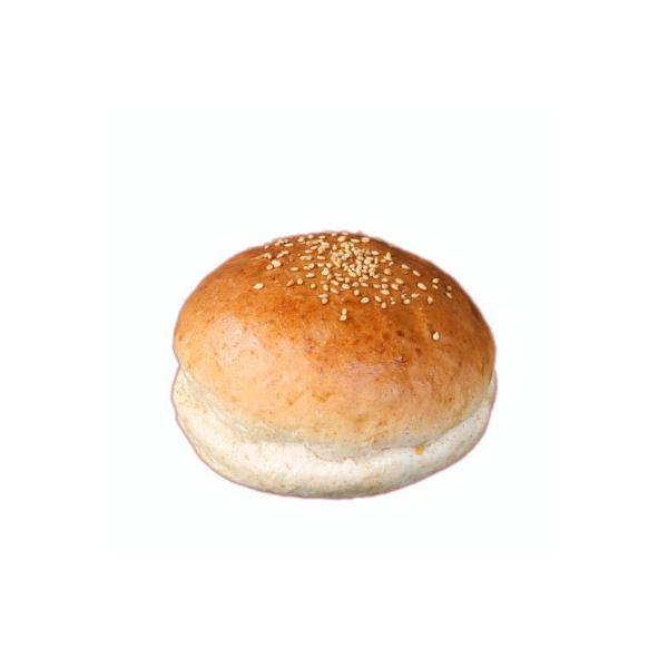 ハンバーガー用グラハムバンズ《ゴマ付、ビッグ11cm》■64個■国産小麦【冷凍出荷】