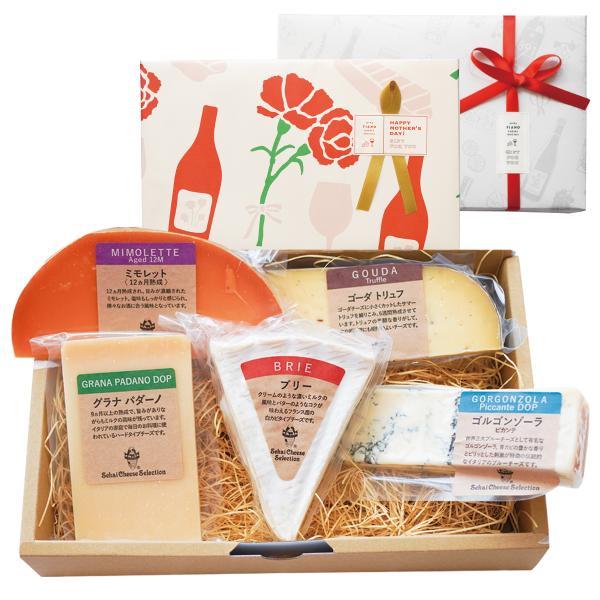 ワインとチーズの専門店フィアーノ『世界のチーズ5種類セット』