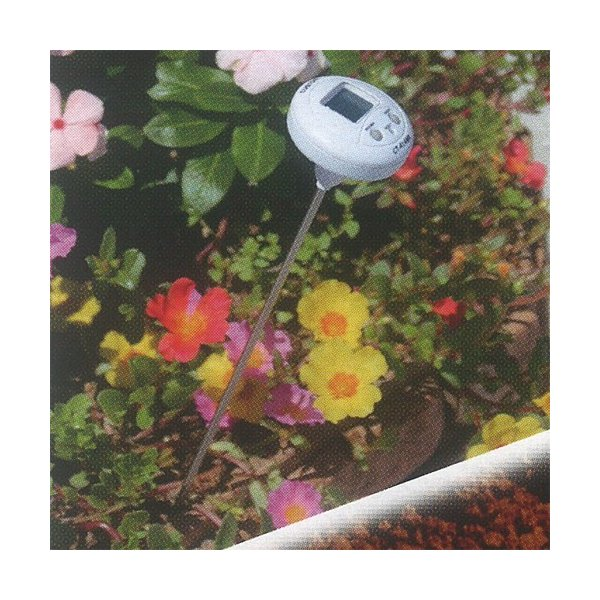 【数量限定セール】エンペックス (EMPEX) 防滴デジタル温度計 T字ペン型 CD-9020[温度計 ロング 地温計 棒状]|ficst|07