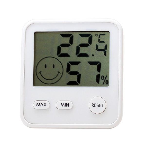 エンペックス (EMPEX) おうちルーム デジタルmidi温湿度計 TD-8411 ホワイト|ficst