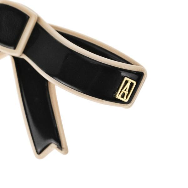 アレクサンドル ドゥ パリ ALEXANDRE DE PARIS  AA6-17014-03/ROME(Y) バレッタ ヘアーアクセサリー ブラック ベージュ