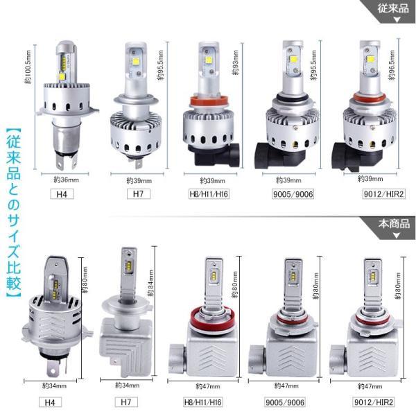 9S 9005 一年保証 コンパクト オールインワン LEDヘッドライト Philips ZES 高輝度 取付簡単 長寿命 8000LM 6500K 高速冷却フアン搭載 IP65防水|field-ag|12