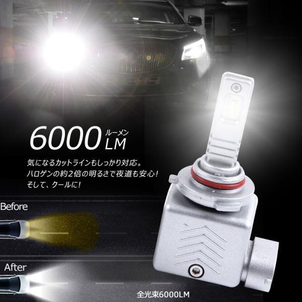 9S 9005 一年保証 コンパクト オールインワン LEDヘッドライト Philips ZES 高輝度 取付簡単 長寿命 8000LM 6500K 高速冷却フアン搭載 IP65防水|field-ag|08