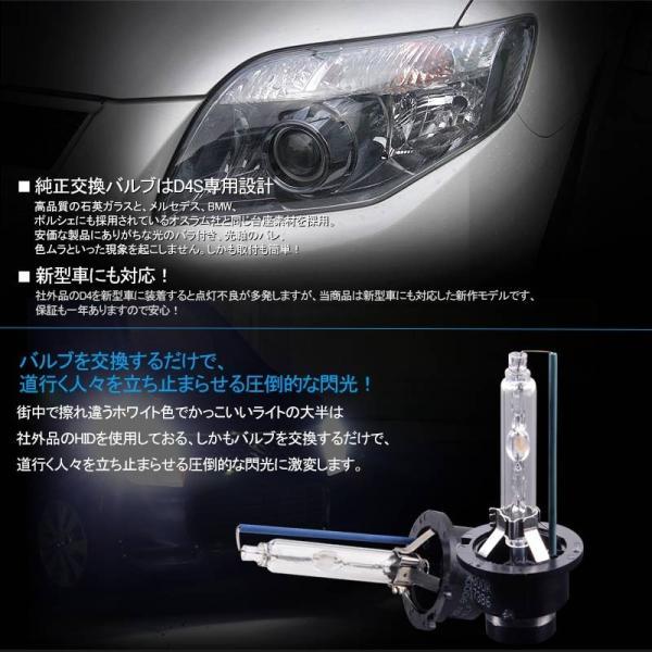 【安心1年保証】超人気★純正交換用HIDバルブ★D4S 35W 4300K/8000K プロジェクタータイプ 石英ガラス 高品質 取付簡単 タイプ8000 ヘッドライト 新型車対応|field-ag|06