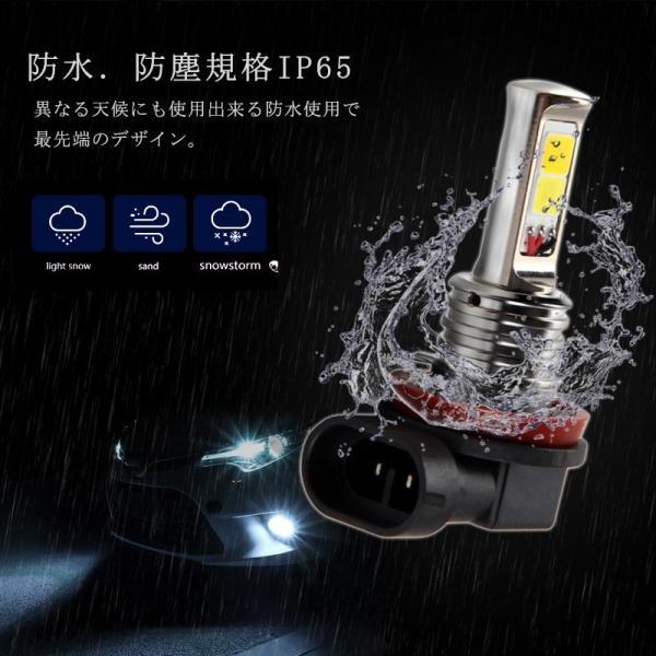 LEDデイライト フォグランプ専用 イエロー ホワイト 2色フォグ ダブルカラー フォグランプ 角度調整可能 2色切り替え式フォグライト LED 超耐久 field-ag 08