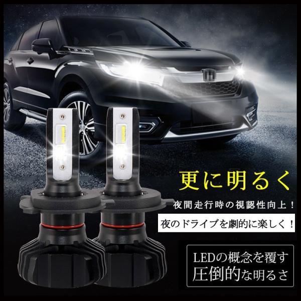 車検対応LEDヘッドライト H4 ファンレス 最新モデル 9000lm 6500K遮光板採用 IP65 ハイブリッド車対応 オールインワンタイプ|field-ag|04