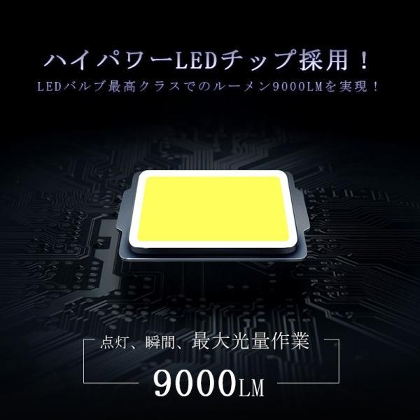 車検対応LEDヘッドライト H4 ファンレス 最新モデル 9000lm 6500K遮光板採用 IP65 ハイブリッド車対応 オールインワンタイプ|field-ag|05