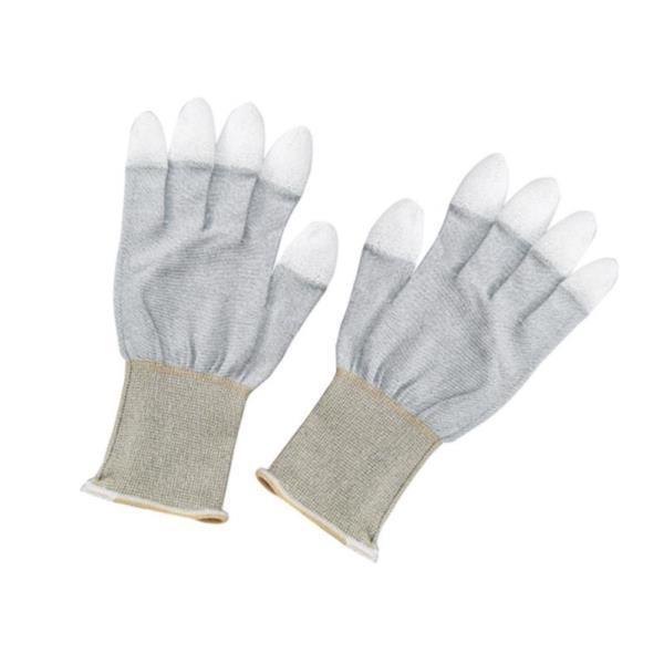 WG-3L 静電対策手袋 指先コート Lサイズ 太洋電機 作業用手袋 グローブ (ATG)(QCB43)