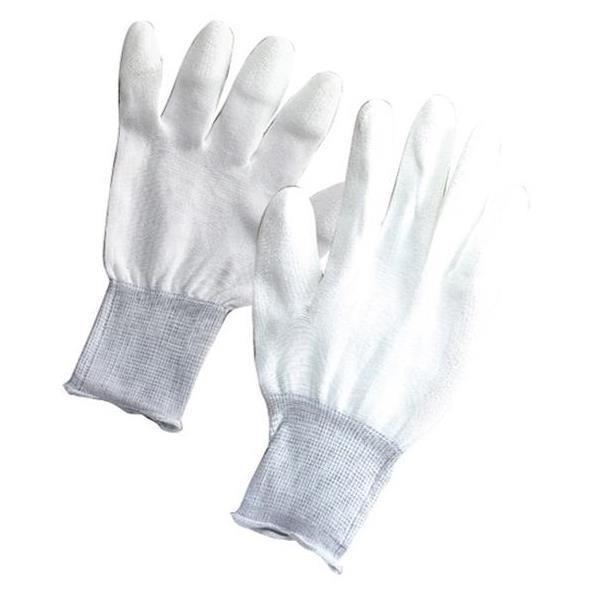 WG-1M 低発塵性手袋 指先コート Mサイズ 太洋電機 作業用手袋 グローブ (ATG)(QCB43)