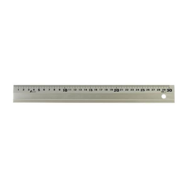 #65417 アルミ直尺 アル助30cm シャンパンゴールド 測定 定規 尺 (SSO)