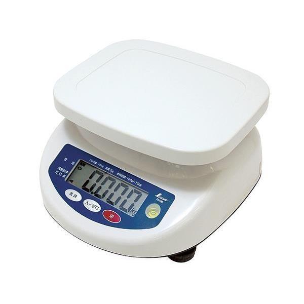70106 デジタル上皿はかり 15kg取引証明以外用  秤 計量 はかり  (SSO)(CQB27)