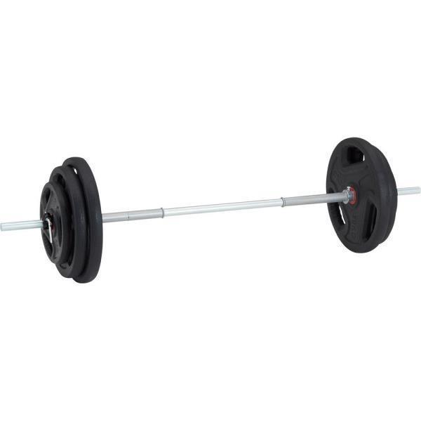 バーベル セット バーベル 80kg 筋トレ TPUバーベル28 80kgセット D5037 特殊送料(ランク:M) (DAN) (CQB27)