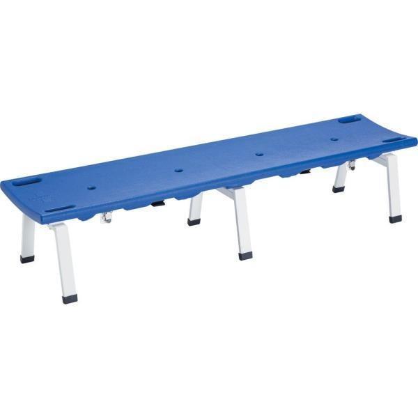 ベンチ 担架 イス レスキューボードベンチ1780(ブルー) D1431B 特殊送料(ランク:K) (DAN) (CQB27)