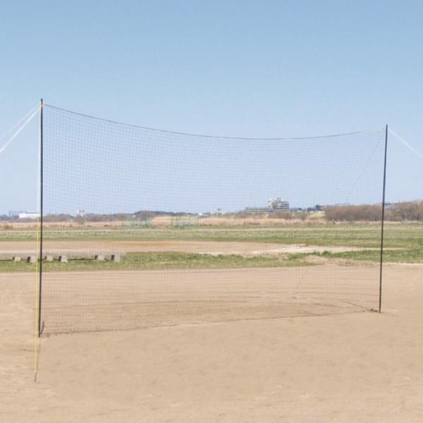 ネット グラウンド 野球 バックネット ポータブル 6×3 S-4014 特殊送料(ランク:B) (SWT) (QCB43)