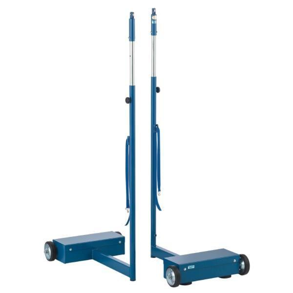支柱 バドミントン 支柱 バレー 体育用品 多目的支柱 移動式 検定品 S-7199 特殊送料(ランク:G) (SWT) (CQB27)